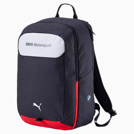 BMW Motorsport Backpack, Team Blue-Puma White, small-IND