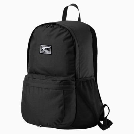 PUMA Academy Backpack, Puma Black, small-IND