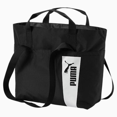 Core Style Large Shopper, Puma Black-Marshmallow, small-IND