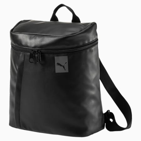 Women's Prime Icon Backpack, Puma Black, small-IND