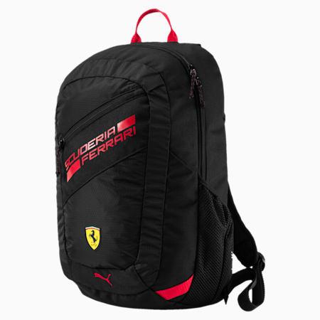 Ferrari Fan Backpack, Puma Black, small-SEA