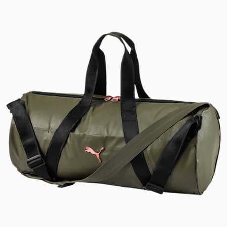 Active Training Women's Combat Sports Bag, Olive Night-Puma Black, small-IND