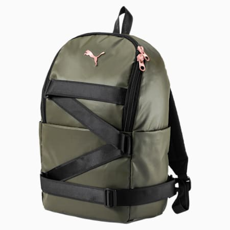 Combat Backpack, Olive Night-Puma Black, small-IND