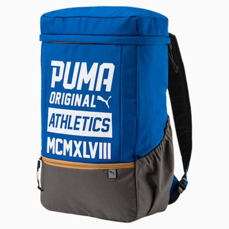 Sole Backpack Plus, Lapis Blue-Puma White, small-IND