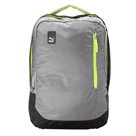 Blaze Work Backpack, Steel Gray-Acid Lime, small-IND