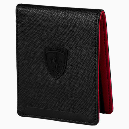 Ferrari Lifestyle Wallet, Puma Black, small