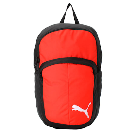 Football Pro Training II Backpack, Puma Red-Puma Black, small-IND