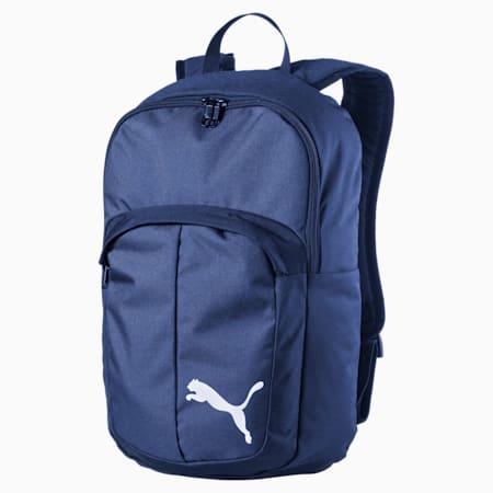 Football Pro II Training Unisex Backpack, Puma New Navy-Puma Black, small-IND