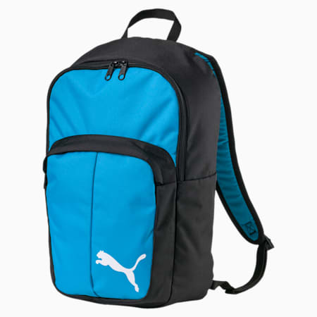 Football Pro Training II Backpack, Atomic Blue-Puma Black, small-IND