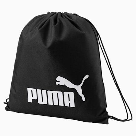 푸마 페이즈 짐 색/PUMA Phase Gym Sack, Puma Black, small-KOR