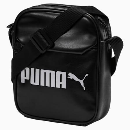 Campus Shoulder Bag, Puma Black, small-SEA