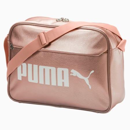 Campus Reporter Bag, Peach Beige-metallic, small