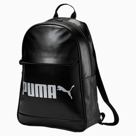 Campus Backpack PU, Puma Black, small-IND