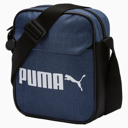 PUMA Portable Campus Portable Bag, Blue Indigo-Denim, small-SEA