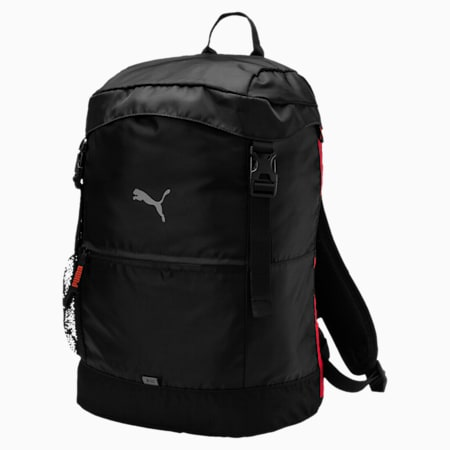 Golf Backpack, Puma Black, small-SEA