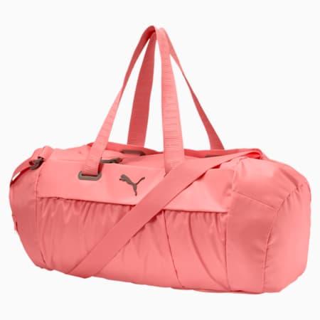 Active Training Women's Sports Duffle Bag, Soft Fluo Peach-Rock Ridge, small