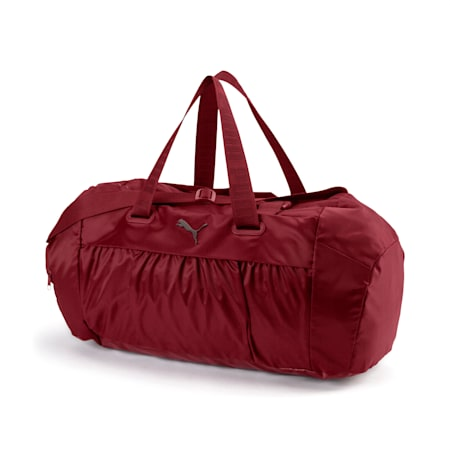 Active Training  Sports Duffle Bag pour femme, Pomegranate-gunmetal, small