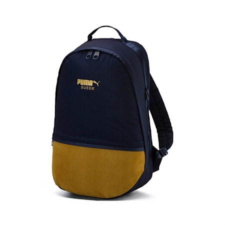 Puma Suede Backpack, Peacoat, small-IND