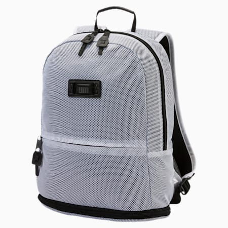 Pace Zip-out Backpack, Puma White, small-IND