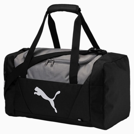 Fundamentals Small Sports Bag, Puma Black, small