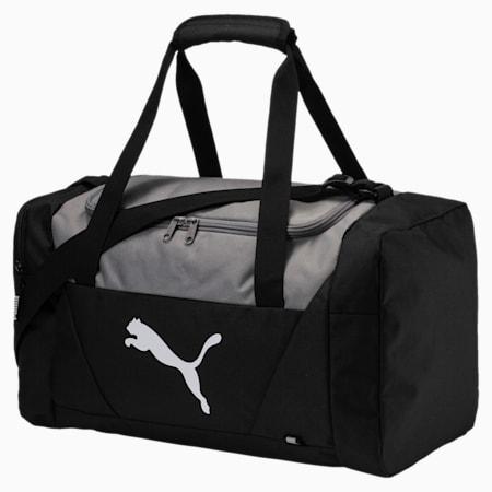 Fundamentals Small Sports Bag, Puma Black, small