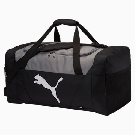 Fundamentals Sports Bag, Puma Black, small