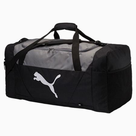 Bolsa de deporte Fundamentals Large, Puma Black, small