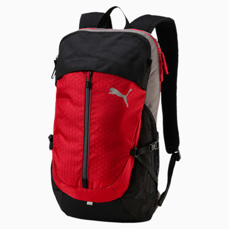 Apex Backpack, Ribbon Red-Steel Gray, small