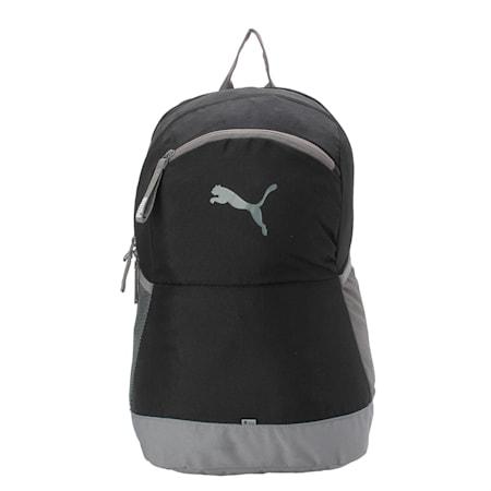 PUMA Power Backpack, Puma Black-QUIET SHADE, small-IND