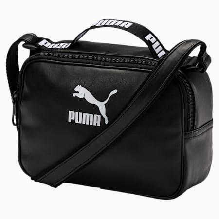 Prime Mini Reporter Bag En Pointe, Puma Black-Puma White, small-SEA