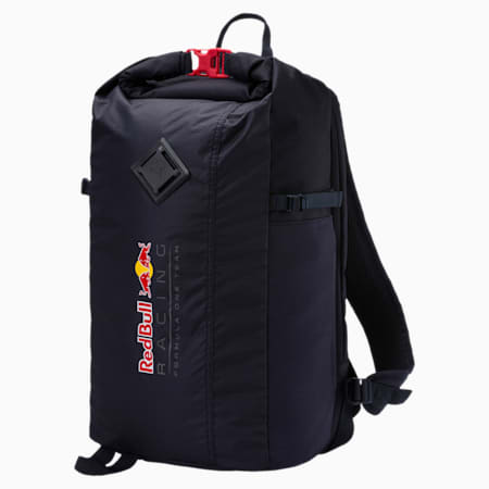 Red Bull Racing Lifestyle Backpack, NIGHT SKY-Chinese Red, small