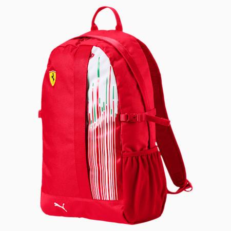Scuderia Ferrari Backpack, rosso corsa, small