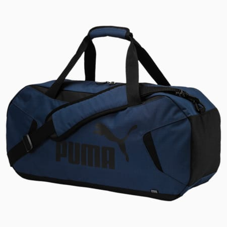 Gym Duffle Bag, Sargasso Sea-Puma Black, small-SEA