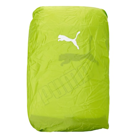 Puma Packable Rain Cover, Lime Green, small-IND