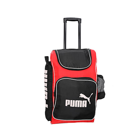 evoSPEED Cricket Trolley bag, Black-Red-White, small-IND