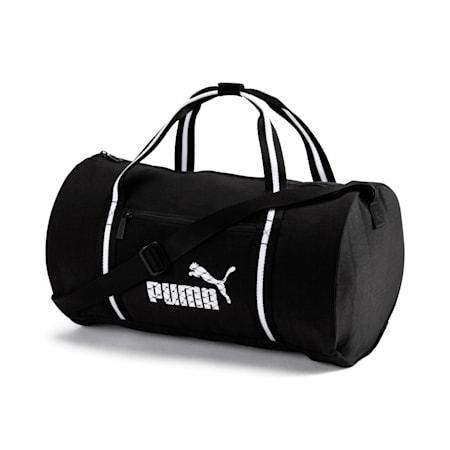 Women's Barrel Bag S, Puma Black-Puma White, small-SEA