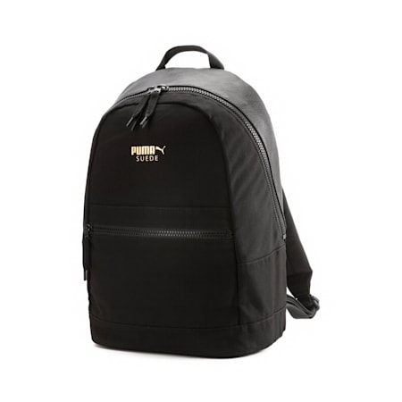 Suede Edition Backpack, Puma Black, small
