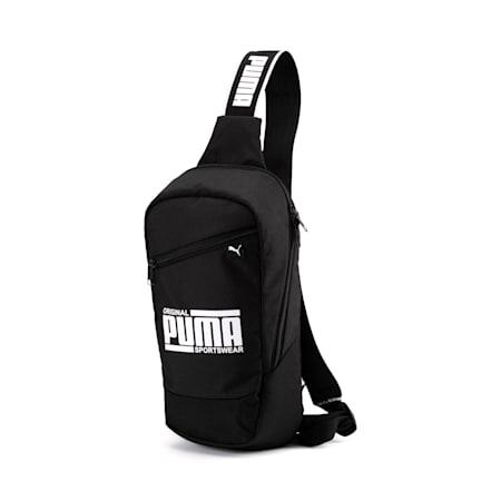 PUMA Sole Cross Unisex Bag, Puma Black, small-IND