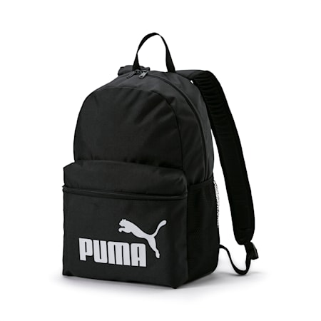 PUMA Phase Unisex Backpack, Puma Black, small-IND