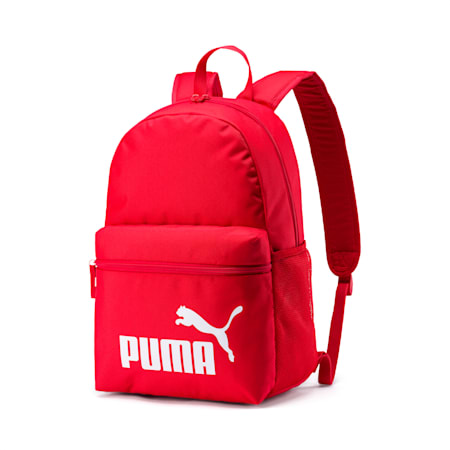 PUMA Phase Unisex Backpack, High Risk Red, small-IND