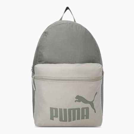 PUMA Phase Unisex Backpack, Grape Leaf-Covert Green, small-IND