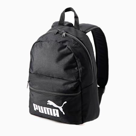 キッズ プーマ フェイズ ポータブル 13L, Puma Black, small-JPN