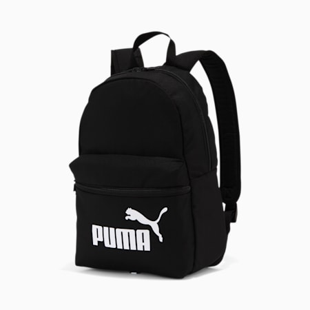 Phase Small Backpack, Puma Black, small