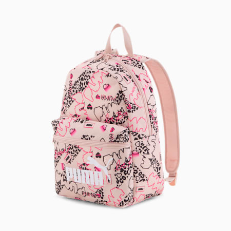 Phase Small Backpack, Peachskin-Girls AOP, small
