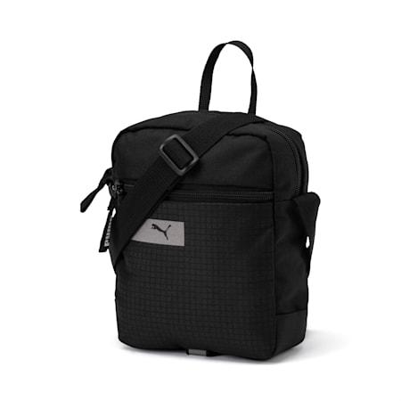 PUMA Vibe Portable Shoulder Bag, Puma Black, small-SEA