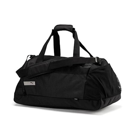 PUMA Vibe Gym Bag, Puma Black, small-IND