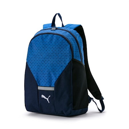 PUMA Beta Backpack, Strong Blue-Peacoat, small-IND