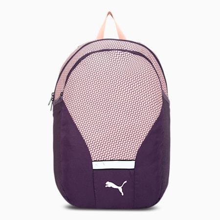 Beta Backpack, Peach Bud-Indigo, small-IND