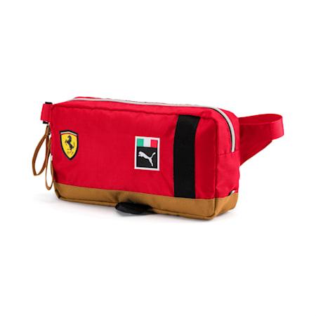 Scuderia Ferrari Fanwear Waist Bag, rosso corsa-Puma Black, small
