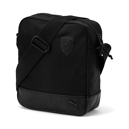 Ferrari Lifestyle Portable Bag, Puma Black, small